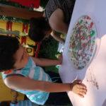Zajęcia w przedszkolnym ogrodzie